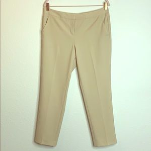 Vince Camuto pants size 8 tan trousers work casual